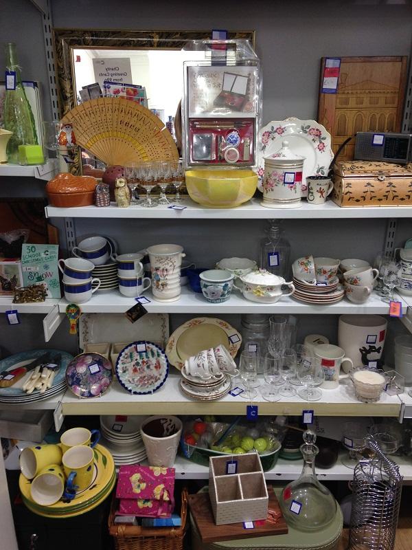 Charity shopping Portobello