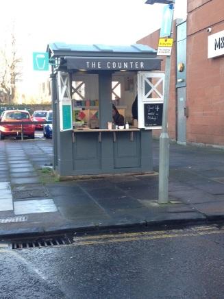 Police Box turned cafe in Morningside