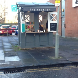 Police Box turned cafe in Morningside